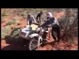 Путешествие на мотоциклах Урал по пустыням Африки.