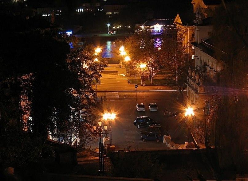 Ночной Севастополь.