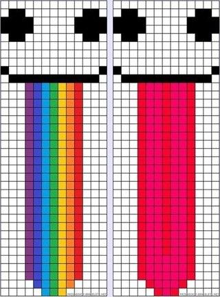 Схемы Pixel Art в Minecraft
