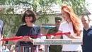 Открытие детской площадки в прифронтовом горловском посёлке Озеряновка Актуально 01 07 19