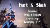 Hack & Slash | Solo nonCP PVP Stamina Dragon Knight Gameplay #13 | ESO Dragon Bones
