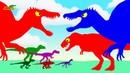 Веселые Динозаврики - Мультики про Динозавров для детей Динозавры мультфильмы для малышей