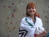 Малькова Ирина покоряет горы с флагом МММ