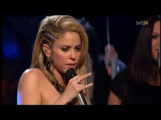 Shakira - Did It Again (Live Skavlan 2009)