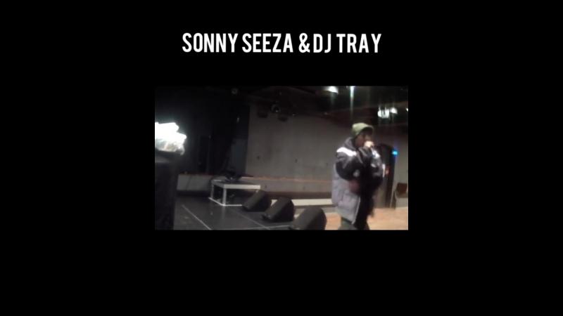 Sonny Seeza DJ Tray - Soundcheck (Kaserne Basel, Switzerland) [December 16, 2011] - Romp Brooklyn 2 Basel