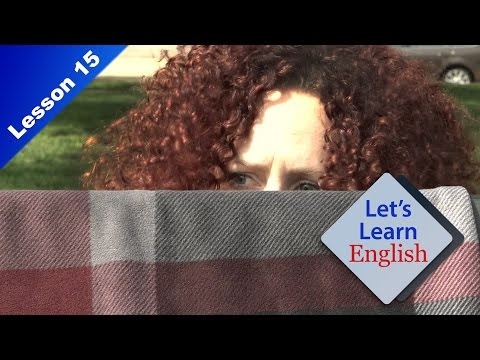 Let's Learn English Lesson 15: I Love People-Watching!
