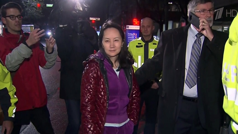 Финансового директора Huawei идочь основателя компании Мэн Ваньчжоу выпустили под залог в7,5 миллионов долларов