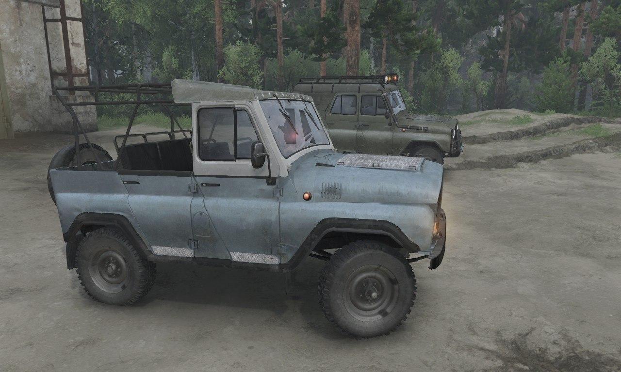 УАЗ-31512/3151 для 03.03.16 для Spintires - Скриншот 3