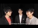 Shimono Hiro, Kaji Yuuki, Takuma Terashima Funny Moment