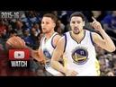 Stephen Curry & Klay Thompson Full Highlights vs Trail Blazers (2016.03.11) - SPLASH BROS!