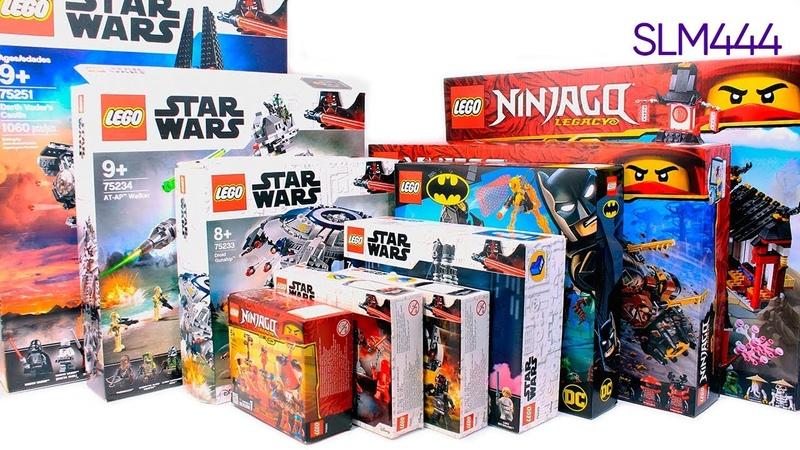 НОВЫЕ НАБОРЫ LEGO! Star Wars, Super Heroes, Ninjago 2019 | LEGO-Unboxing 8