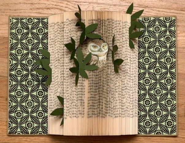 Красивые композиции из книг от Рэйчел Аше