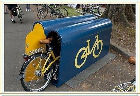 Как сделать своими руками гараж для велосипеда