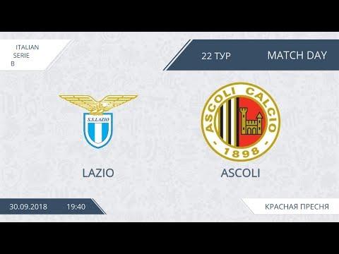 AFL18. Italy. Serie B. Day 22. Lazio - Ascoli