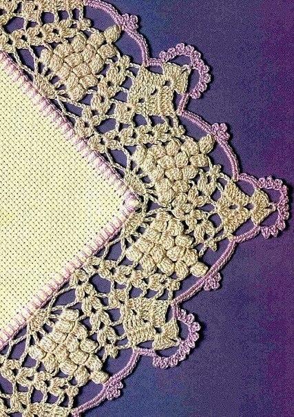 Вязание Каймы