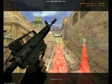 игра с м4 голд на de_dust2_2x2