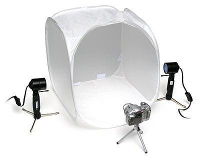 portable_photo_studio.  Как фотографировать без теней?