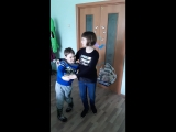 wife and husband's dance