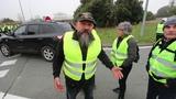 La Rochelle les Gilets jaunes bloquent Beaulieu