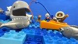 Строим из Lego Duplo - Build and Play toys Lego - fishing in the North sea