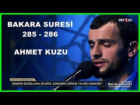 Kur'an ı Kerim'i Güzel Okuma Yarışması Hafta Finali Ahmet Kuzu