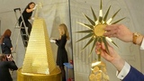 $2.6 Million Christmas Tree Made of Gold Said to Be Europe's Most Expensive