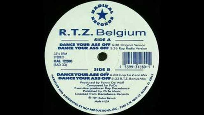 R.T.Z Return to Zero - Dance Your Ass Off