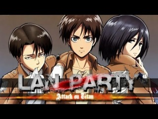 Attack on Titan Game Taking Back Trost - LAN Party