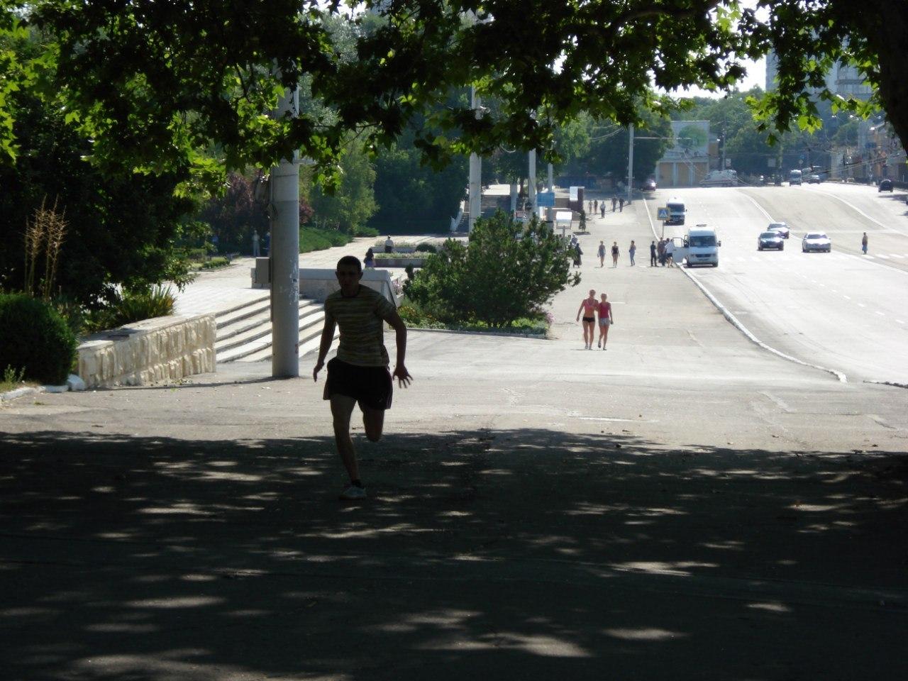Отчет о Приднестровской Пробежке (1.07.2012) от Виталия