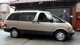 Toyota Previa - это самый странный минивэн в истории
