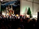 Balloon blowing contest at Alpine Village Oktoberfest