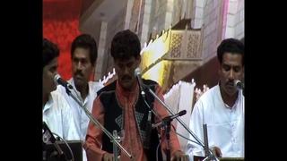 2005-1015 Evening Program Navaratri, Qawwali - Wajahat Hussain Khan, New Delhi, India