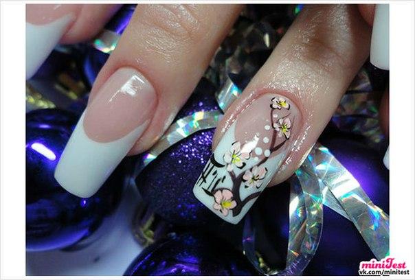 Фото самого модного дизайна ногтей