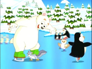 """""""Dora's Ice Skating Adventure"""" with Hilary Duff Clip"""