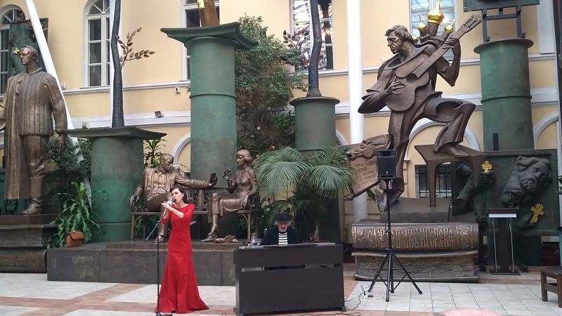 Галерея Зураба Церетели.Открытие выставки художника Сергея Каменева