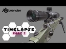 SPEED MODELING NEW RUSSIAN SNIPER RIFLE IN BLENDER 2.79