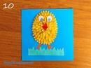 Цыплёнок из ватных палочек: мягко и забавно!