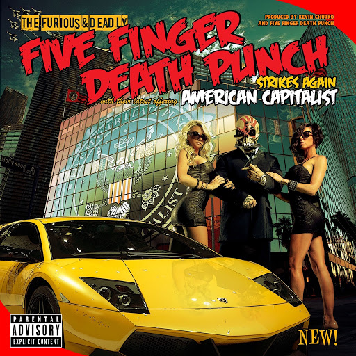 Five Finger Death Punch альбом American Capitalist (Deluxe)