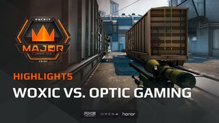 Highlights: Woxic vs OpTic Gaming, FACEIT Major: London 2018 - New Challengers Stage