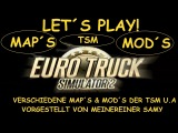 Let´s Play! ETS2 TSM Map 3.0 Dänemark Teil 2 Beta Version
