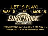 Let´s Play! ETS2 TSM Map 3.0 Dänemark Teil 2 Beta Version