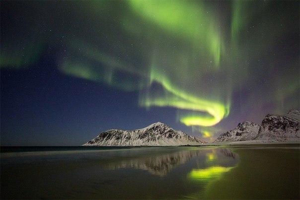 Танец света в Норвегии