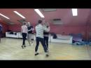 Lana-love & Vitaliy Gudimenko.Bachata,запись с урока в школе танцев Breeze Dance