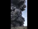 Курильский остров Парамушир Как всегда разбушевался вулкан Алаид