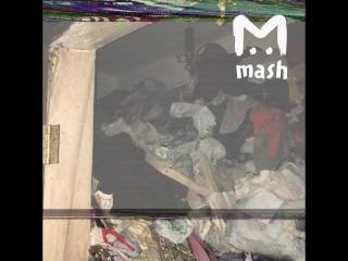 В Москве женщину спасли из-под завалов мусора в ее квартире
