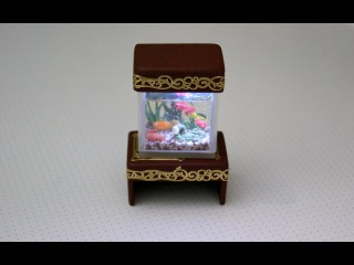 Подсветка и подставка для аквариума / Illumination and Stand for aquarium