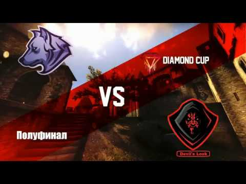 Полуфинал турнира по CS 1.6 от проекта Diamond CUP [Diversion Team -vs- Devils Look] @ by kn1fe