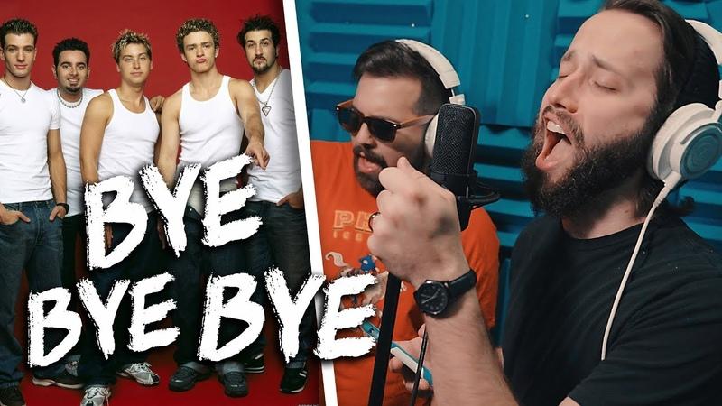 *NSYNC - Bye Bye Bye (METAL cover by Jonathan Young Caleb Hyles)