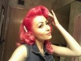 My Manic Panic Pink & Red hair