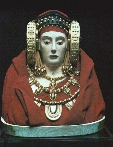 Музейный экспонат из археологического музея в Мадриде.